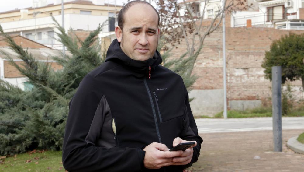 Josep Miquel Milagros, portaveu del sindicat USPAC dels Mossos d'Esquadra