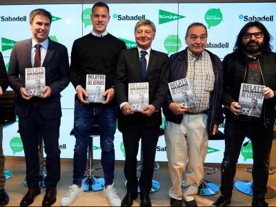 Sergi Mas, Jordi Romañach, Ter Stegen, G. Martínez, Pare Manel i Carles Domènech