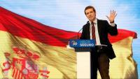 """Casado demana el vot per evitar un govern """"en mans"""" de l'independentisme: """"Si Sánchez es queda manen Torra i Puigdemont"""""""