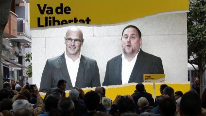 """Junqueras: """"Els vostres vots ens han de fer lliures a tots plegats"""""""
