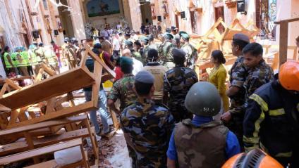Bany de sang a Sri Lanka