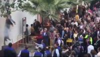 Coripe (Sevilla) tiroteja i crema un Judes que representa l'expresident Puigdemont