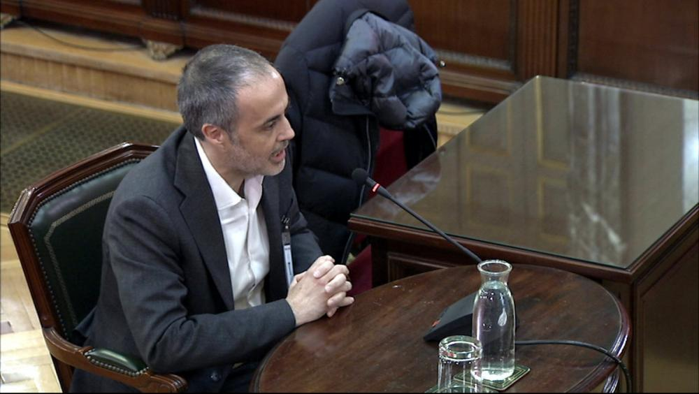 L'exsecretari general del Govern Joan Vidal de Ciurana al Tribunal Suprem