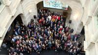 Acte al Palau de la Virreina per Sant Jordi