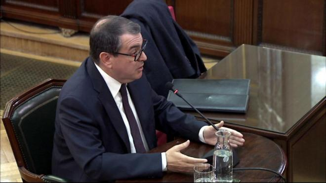 L'exconseller d'Interior Jordi Jané al Tribunal Suprem