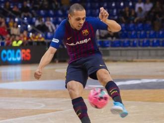 Ferrao ha marcat dos gols contra el Valdepeñas