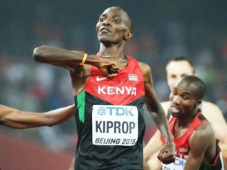 El kenyà Asbel Kiprop, sancionat quatre anys per dopatge