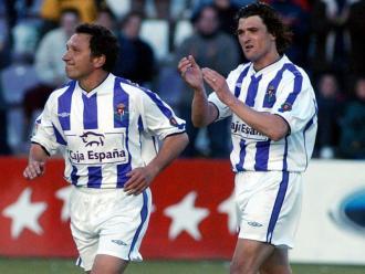 Eusebio Sacristán, el dia en què es va retirar com a futbolista professional amb la samarreta del Valladolid