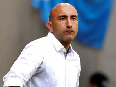 Abelardo, en un partit d'aquesta temporada