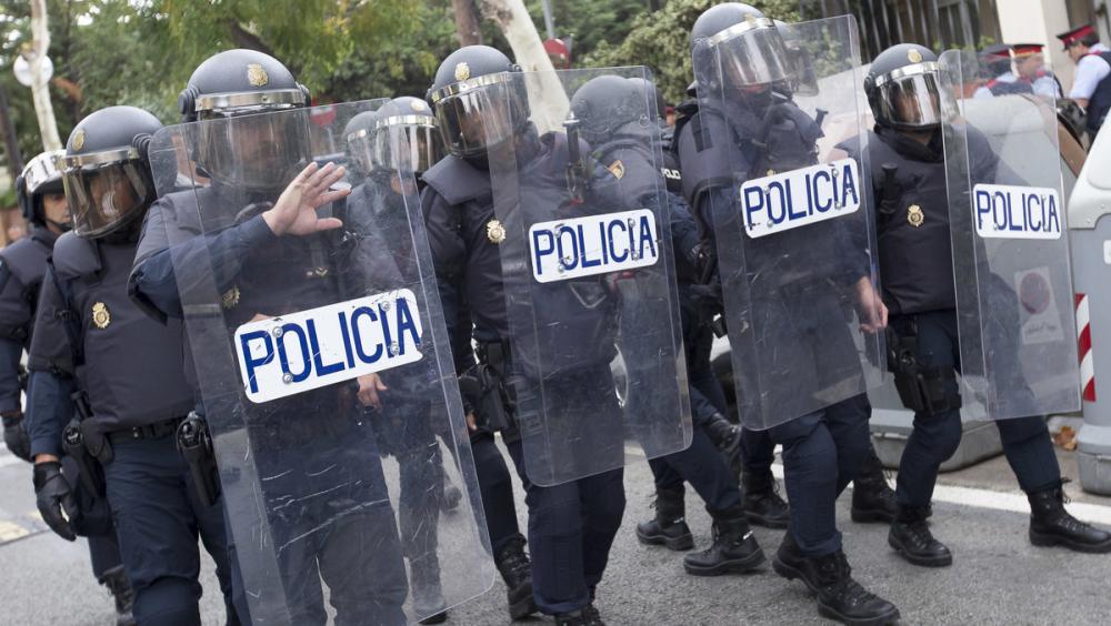 Agents de la Policia Nacional Espanyola l1'-O