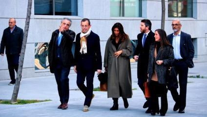 L'expresident del F.C. Barcelona, Sandro Rosell, en una imatge d'arxiu a l'arribada a l'Audiència