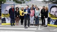 El candidat d'ERC a l'alcaldia de Barcelona, Ernest Maragall, en un acte