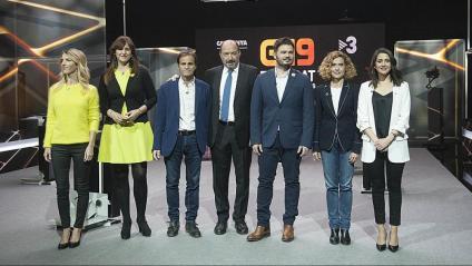 El debat es va fer ahir a la nit en directe als estudis de TV3