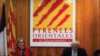 La presidenta del Consell Departamental Hermeline Malherbe
