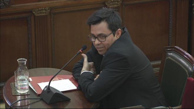 Gerardo Pisarello, primer tinent d'alcalde de l'Ajuntament de Barcelona