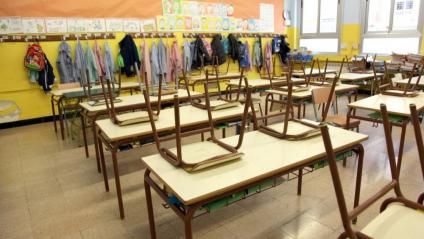 Una classe d'una escola de Reus