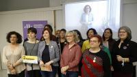 L'acte d'ERC a la biblioteca Montserrat Abelló