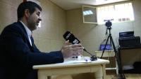 Jordi Sànchez durant la seva roda de premsa del passat 21 d'abril