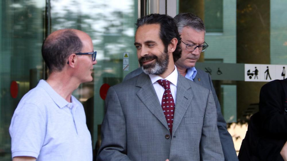 Antoni Molons és un dels afectats per la mesura de retenir els comptes