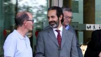 Antoni Molons, secretari de Comunicació del Govern sortint de la Ciutat de la Justícia, el juny de l'any passat