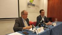 El president de Pimec, Josep González, a Girona