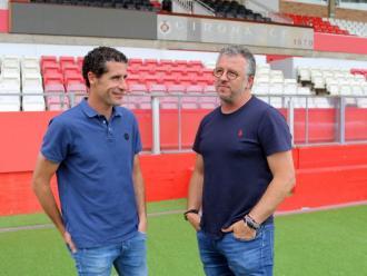 Balcells i Guerrero han compartit experiències a Montilivi i al Sánchez Pizjuán