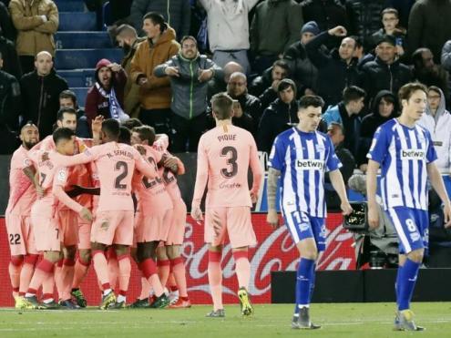 Després de la victòria a Vitòria, al Barça li queden tres punts per ser campió