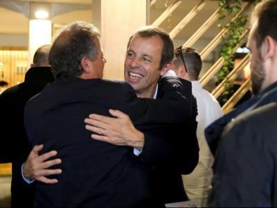 Rosell va ser rebut ahir amb abraçades en el 'village' del Trofeu l'Open Banc Sabadell