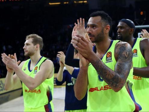 La plantilla del Barça Lassa es conjura per intentar redreçar l'eliminatòria de quarts de final contra l'Efes