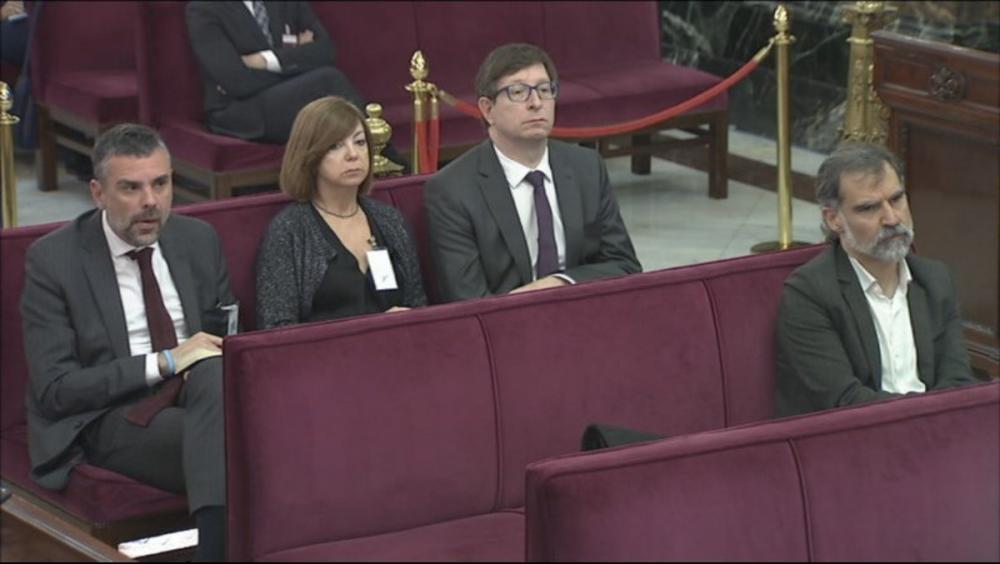 Carles Mundó, en una sessio del judici