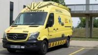 Una ambulància del SEM