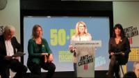 Mascarell, Munté, Artadi i Calvo, presentant ahir les propostes del programa electoral
