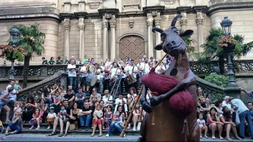 La Cabreta, imatge i element històric del festival