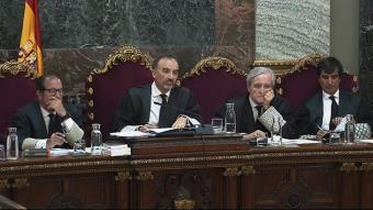 El jutge Marchena va denegar ahir la llibertat dels presos per poder acudir pel seu propi peu al Congrés i al Senat