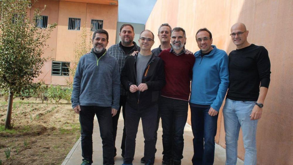 Els presos masculins, a la presó de Lledoners, en una imatge que ara fa un any