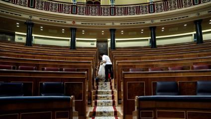 L'hemicicle serà demà l'únic espai de llibertat que els quatre diputats presos tindran al Congrés i Romeva tindrà al Senat
