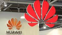 Un logotip de Huawei