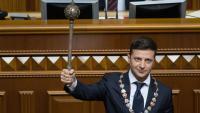 El nou president d'Ucraïna, Vladímir Zelenski
