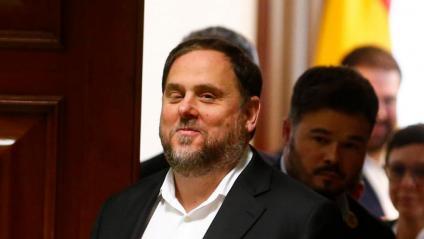 Oriol Junqueras, ahir al Congrés de Diputats