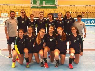 L'equip infantil A del CVB Barça