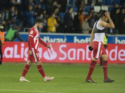 El Girona va tancar a Vitòria l'etapa a primera