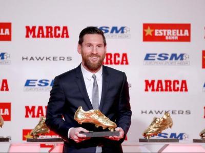 Messi ja té cinc Botes d'Or i vol la sisena