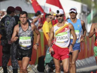 Jesús Ángel Garcia Bragado en els Jocs de Rio