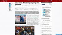 Notícia publicada a Politico, setmanari especialitzat en política, a la versió web de l'edició europea