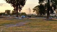 El solar on va ser trobat el cadàver de Janet Jumillas