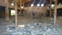 La nau abandonada als afores de la Bisbal on es van perpetrar les agressions sexuals a les nenes