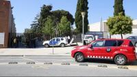 Efectius desplegats a l'institut Joan Puig i Ferreter