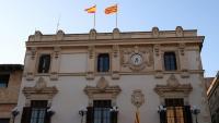 Façana de l'Ajuntament de Vilafranca del Penedès