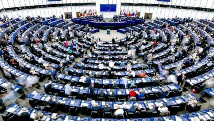 L'hemicicle del Parlament Europeu