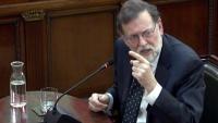 L'expresident espanyol Mariano Rajoy responent com a testimoni a les defenses en el judici al Suprem, el 27-2-19